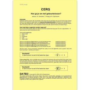 CERQ Jeugd Vragenlijst