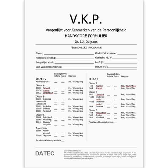 VKP Handscore